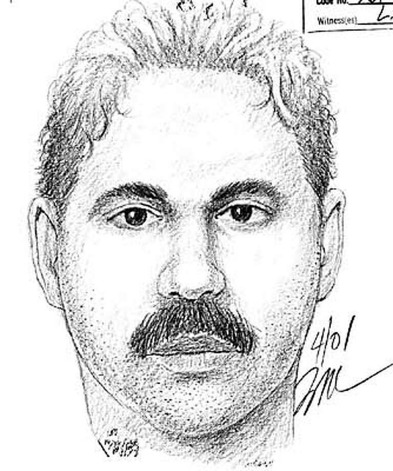 San Jose police released this sketch of a suspect in a sexual assault case.