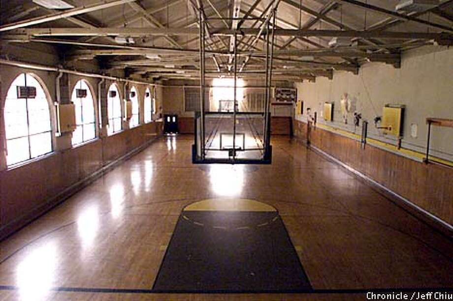 Empty gyms are just one of the indications of the dramatic decline in what once was a rich tradition of San Francisco high school sports. Chronicle photo by Jeff Chiu