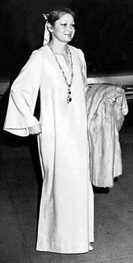 Denise Hale, 1976.