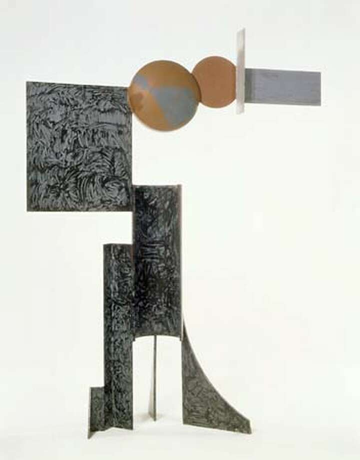 "The Fine Arts Museums of San Francisco have bought ""Zig V"" (1961), a major late work by American sculptor David Smith. The 10-foot-high painted steel work is the first by Smith to enter the Fine Arts Museums' collection. It is on view in Gallery 27 of the M.H. de Young Memorial Museum."