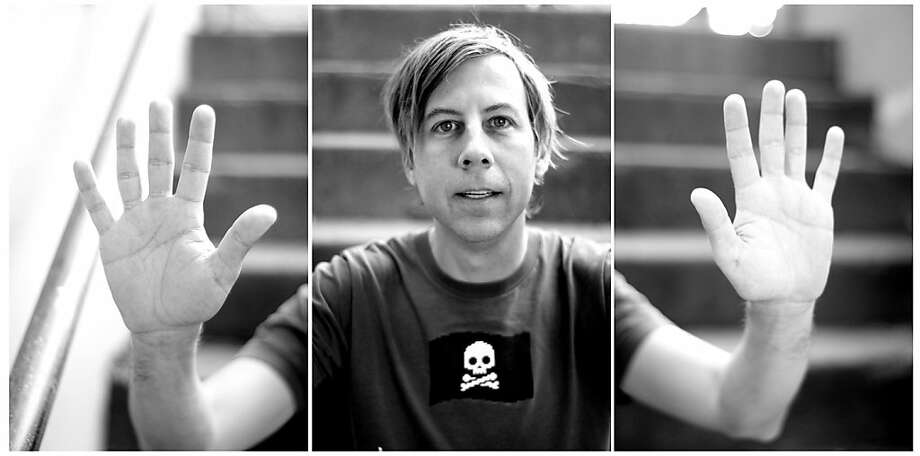 Peter Ellenby's study of John Vanderslice is part of a series that also includes the members of Death Cab for Cutie. Photo: Peter Ellenby
