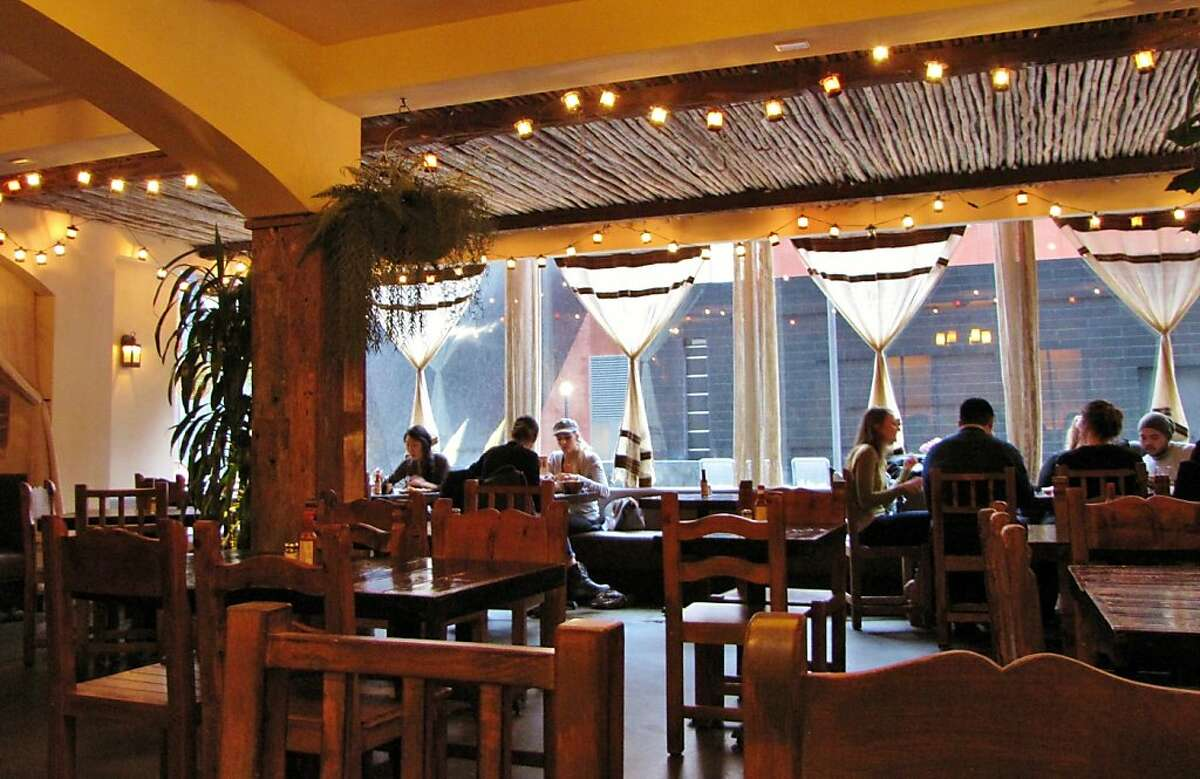 Tropisue o, depending on the time of day, is a taqueria or a full-service restaurant.