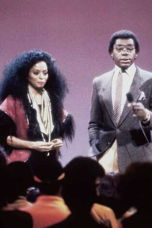 "Singer Diana Ross with show host and producer Don Cornelius. Ross was one of many entertainers who performed on ""Soul Train"" in the 1970''s, part of the Soul Train 30th Anniversary ""Divas and Kings 2000 & Beyond."" (Photo by 2001 Tribune Entertainment) Photo: Tribune Entertainment, Getty Images / Getty Images North America"