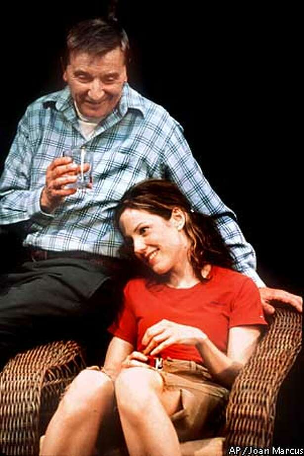 "Larry Bryggman and Mary-Louise Parker perform in ""Proof"" in this undated handoput photo. The 2001 Pulitzer Prize for drama was awarded to David Auburn for his play ""Proof,"" on Monday , April 16, 2001, in New York. (AP Photo/PROOF, Joan Marcus) Photo: JOAN MARCUS"