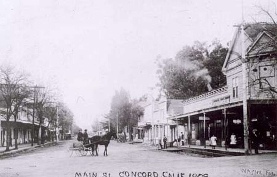 In this 1908's photo, shows the Concord Drug store in the same location as Concord Valco Drugs. which is closing Monday after 120 years of operation. HANDOUT Photo: HANDOUT