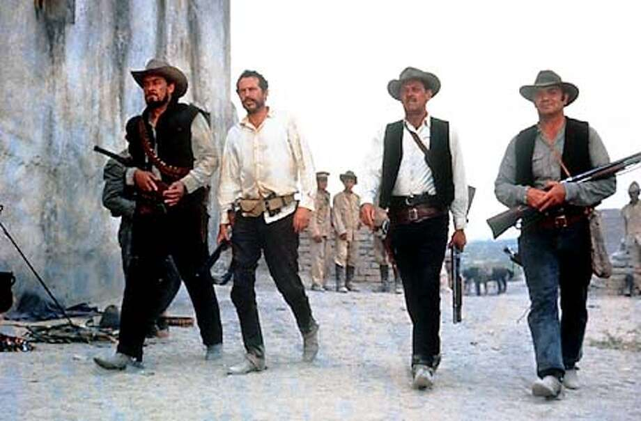 "Sam Peckinpah's ""The Wild Bunch,"" starring William Holden, ended in a slow-motion bloodbath. Publicity Photo"