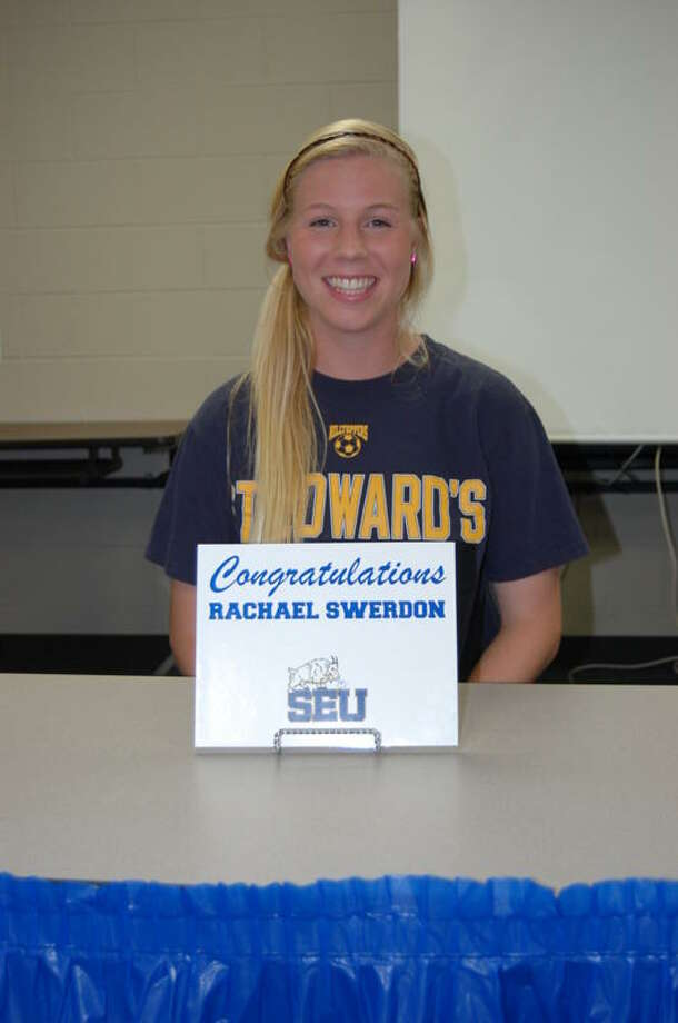 Rachael Swerdon of Cypress Creek High School signed to play soccer at St Edwards University in Austin.