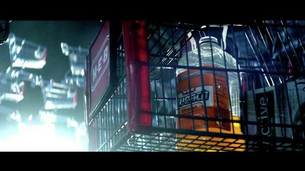 "San Antonio-based H-E-B will air its fourth Super Bowl ad this Sunday in markets across Texas. The ad takes a humorous/Sci-Fi approach with nods to movies such as ""Close Encounters of the Third Kind,"" ""ET"" and ""X-Files."" Photo: Courtesy H-E-B Grocery Co., Courtesy"