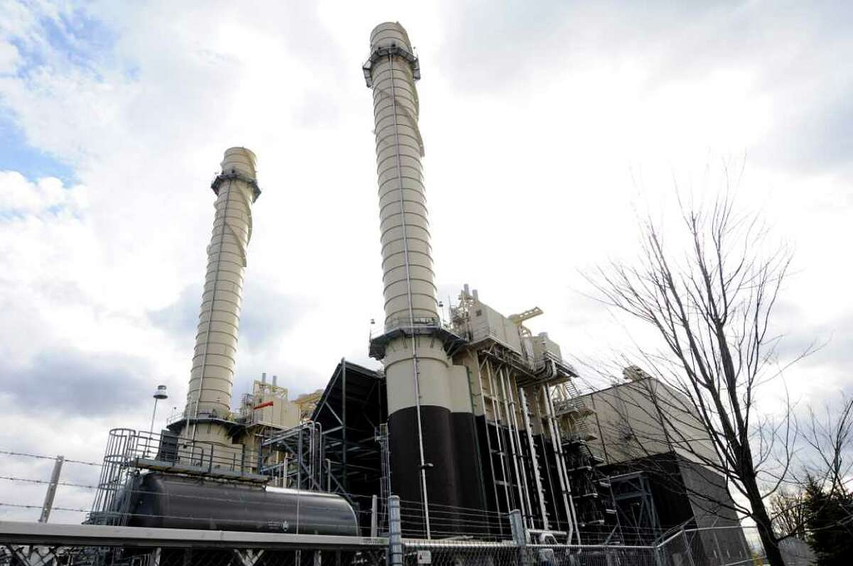 Empire Generating Co. plant on Wednesday, Feb. 1, 2012, in Rensselaer, N.Y. (Cindy Schultz / Times Union)