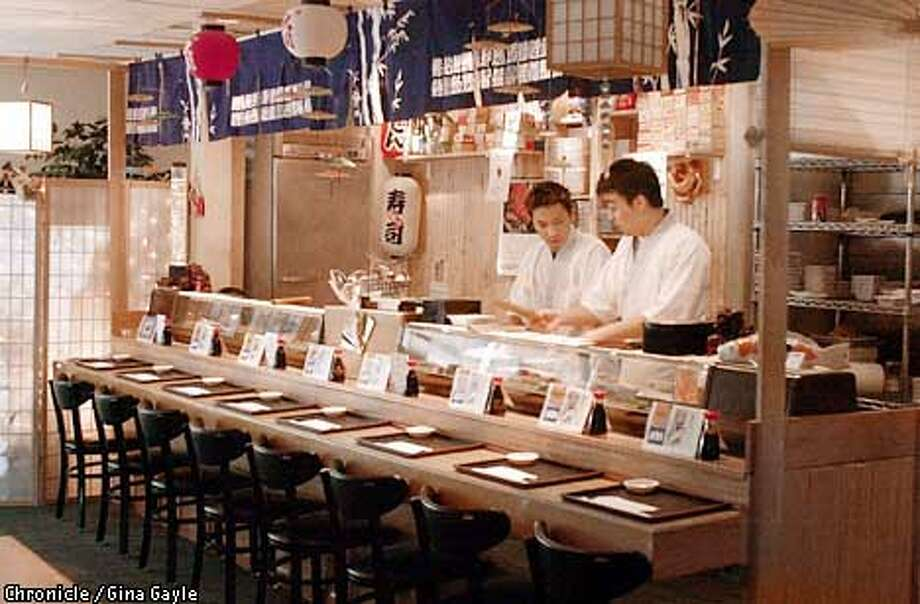 Sushi at the counter might be the best way to try out Star Midas. Chronicle photo by Gina Gayle