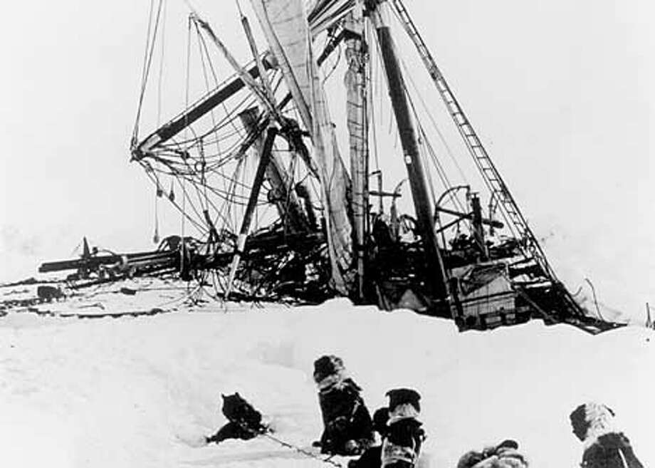 "Explorer Ernest Shackleton's 1914 journey is detailed in ""The Endurance: Shackleton's Legendary Antarctic Expedition."" Publicity Photo"
