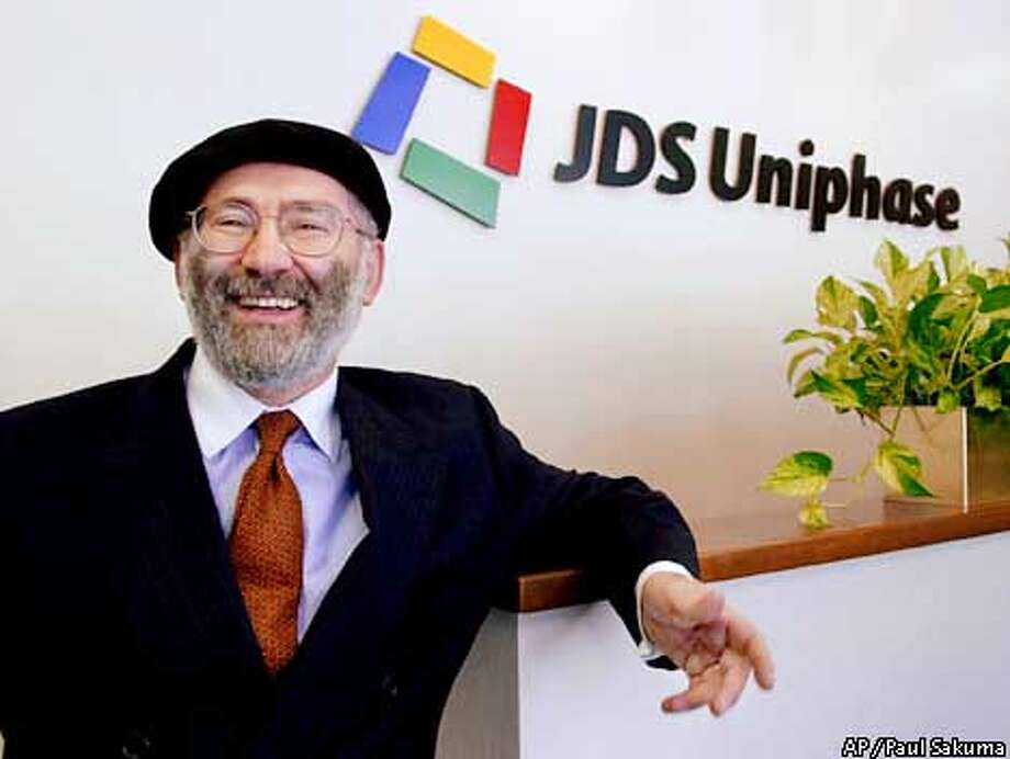 JDS Uniphase CEO Jozef Straus said the company had to act decisively during the current economic downturn. Associated Press file photo, 2000, by Paul Sakuma