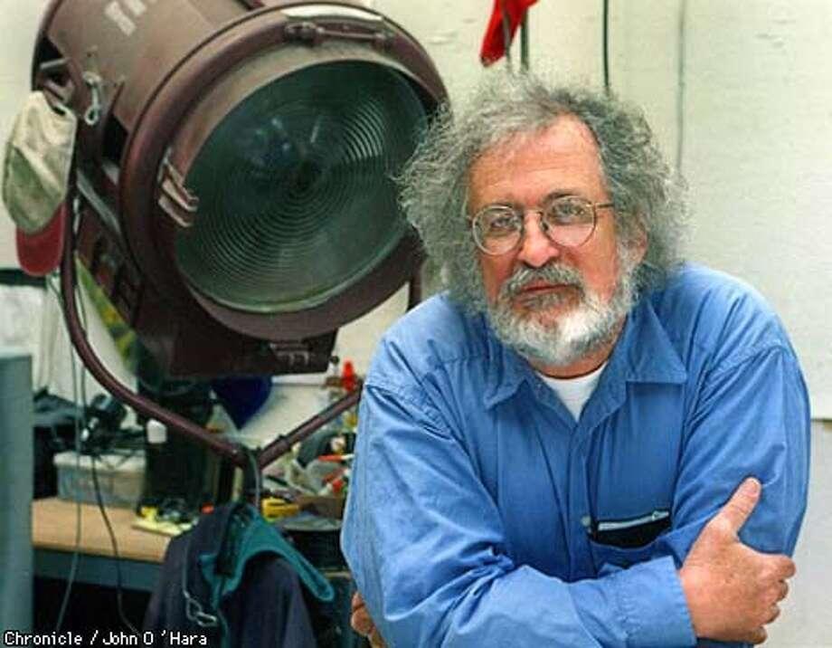 """San Francisco,CA.  Robert Dalva, film editor / director.  """"Voices for our Century""""  Photo by...............John O'Hara Photo: JOHN O'HARA"""