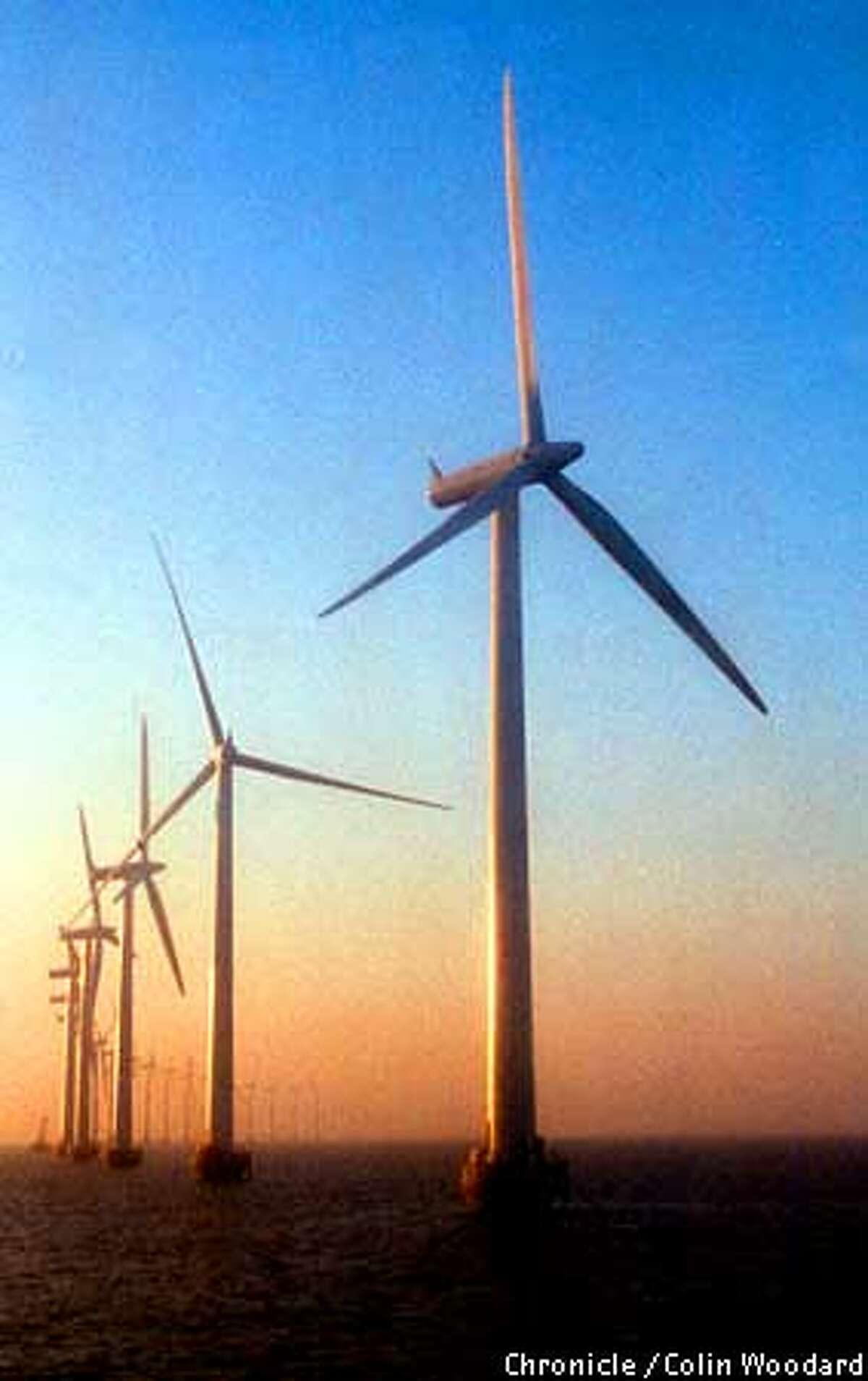 Middlegrunden offshore Wind Farm, Copenhagen, Denmark. Photo By Colin Woodard/for the Chronicle