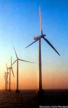 Middlegrunden offshore Wind Farm, Copenhagen, Denmark.  Photo By Colin Woodard/for the Chronicle Photo: COLIN WOODARD