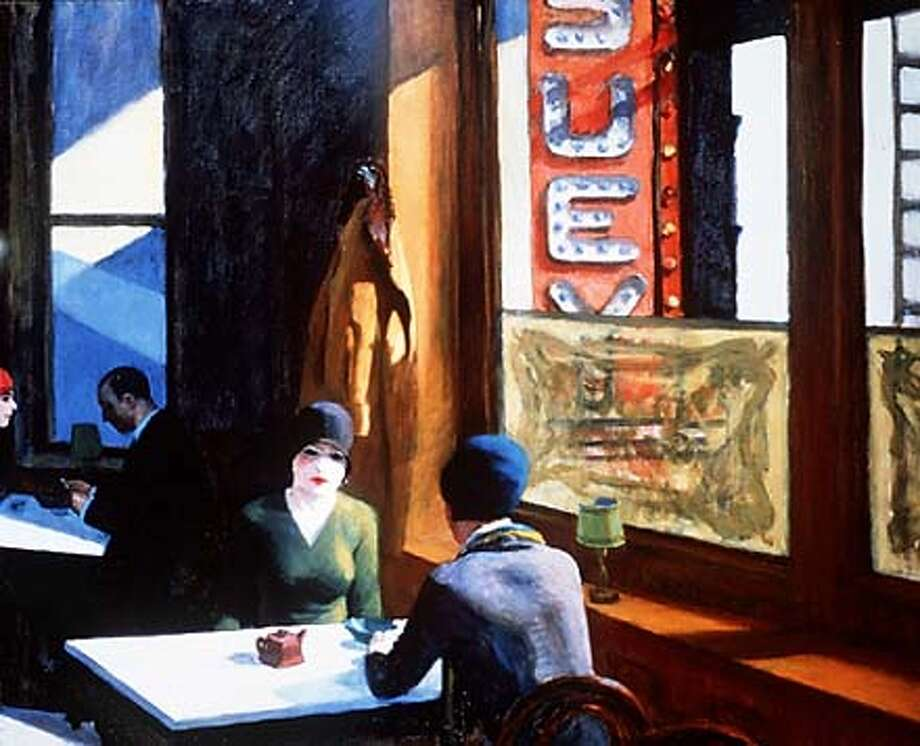 "NYART1/C/25MAY99/DD/HO  EDWARD HOPPER  ""CHOP SUEY"", 1929  THE AMERICAN CENTURY: ART & CULTURE 1900-2000""  WHITNEY MUSEUM OF AMERICAN ART"
