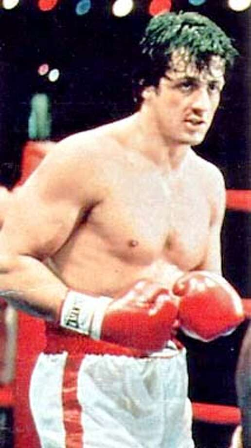 "Action Stars: Sylvester Stallone in his prime in ""Rocky."" Handout Photo"