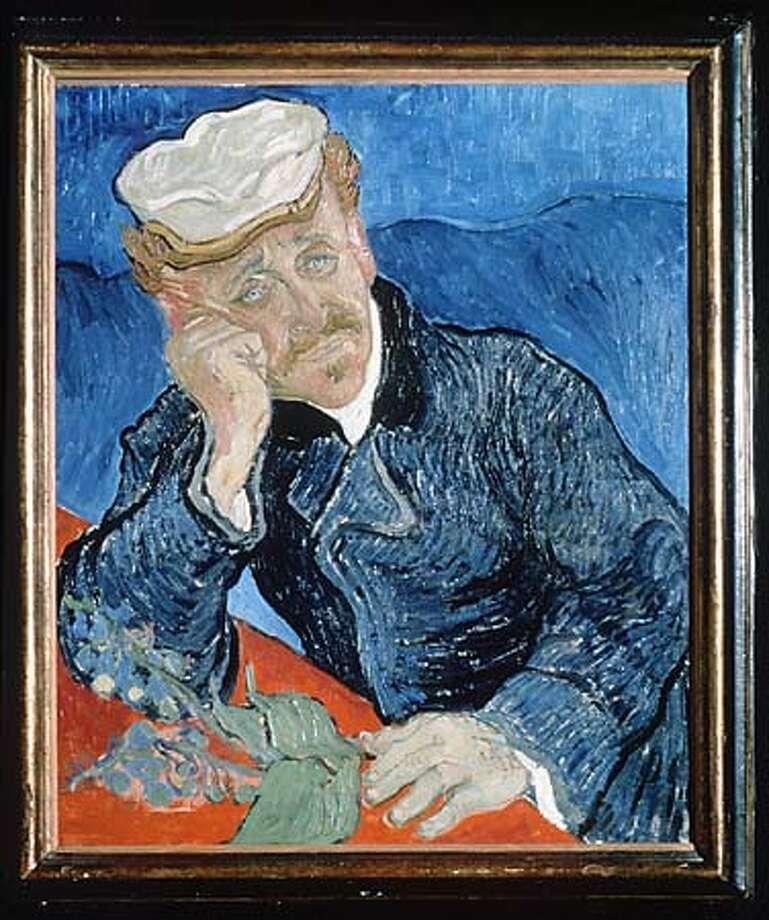 GACHET/C/23MAY99/DD/HO  PORTRAIT OF DR. PAUL GACHET, 1890  VINCENT VAN GOUGH