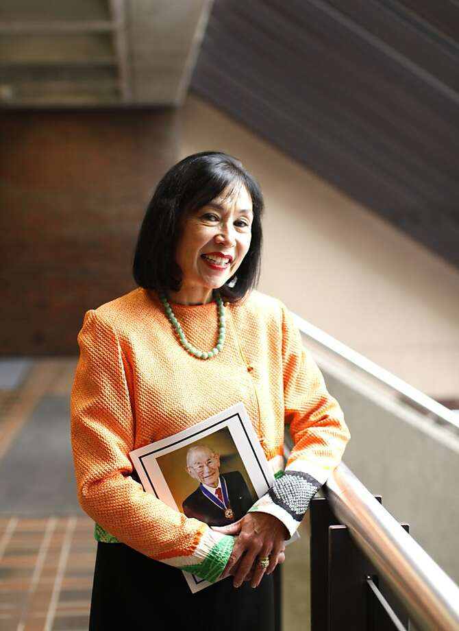 Karen Korematsu wasn't aware of her father's stand against the Japanese American internments until hearing it in school. Photo: Siana Hristova, The Chronicle