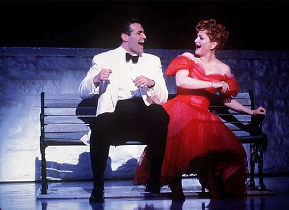 """Jeff (Marc Kudisch) and Ella (Faith Prince) are the leading lovebirds in """"Bells Are Ringing'' on Broadway. Handout Photo"""