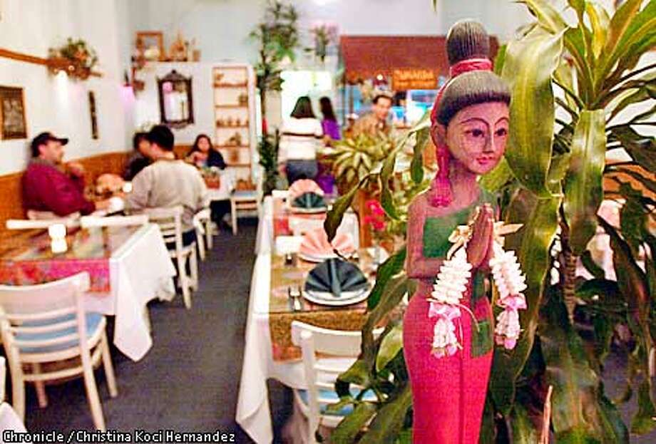 CHRISTINA KOCI HERNANDEZ/CHRONICLE  Interior of , Vanida, a Thai restaurant on Taraval at 40th in San Francisco. Photo: CHRISTINA KOCI HERNANDEZ