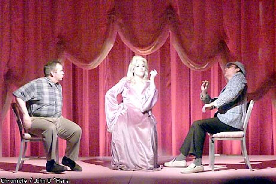 "Tom Riis Farrell, Claudia Shear and Bob Stillman star in ""Dirty Blonde.'' Chronicle photo by John O'Hara"