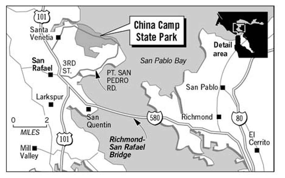 China Camp Park. Chronicle Graphic