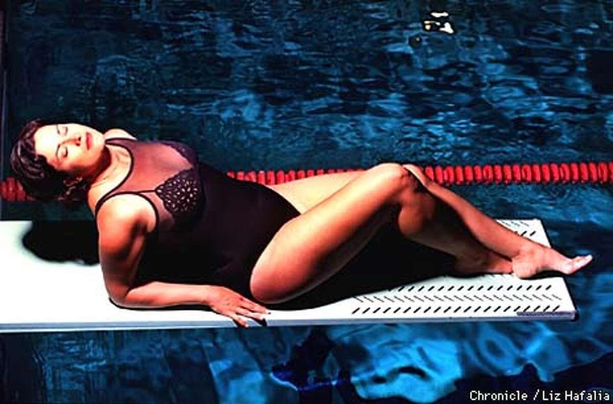 One piece bathing suit. BY LIZ HAFALIA/THE CHRONICLE