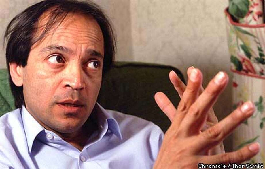 SETH18/C/16MAY99/DD/TS  Author Vikram Seth talks about his new book,  BY THOR SWIFT/THE CHRONICLE Photo: THOR SWIFT