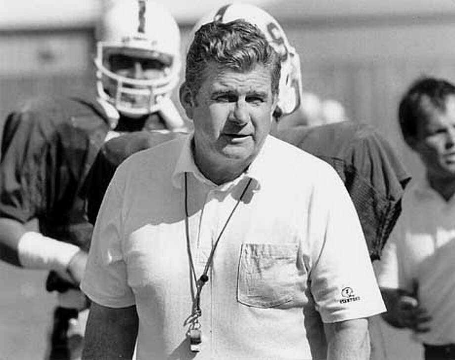 Head Coach Jack Elway, Stanford Football. Photo: HANDOUT