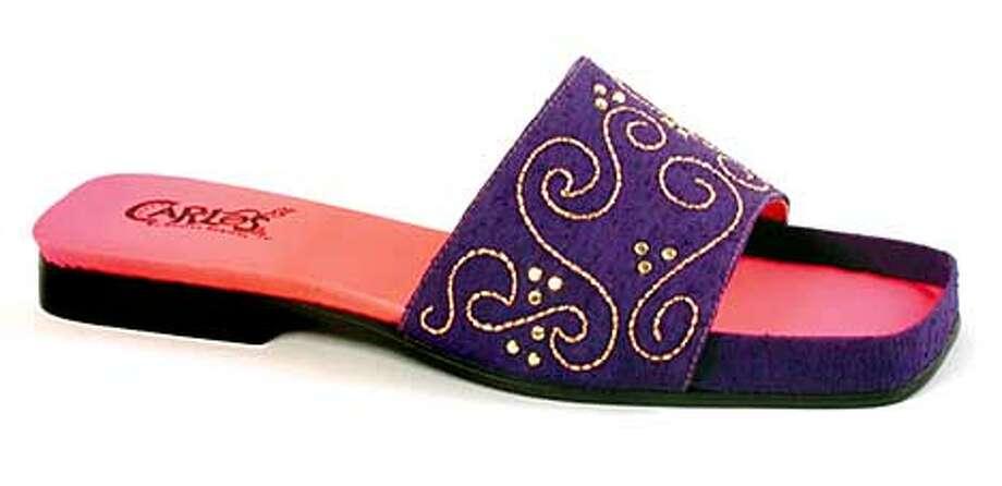 carlos santa shoes. this one corazon. handout