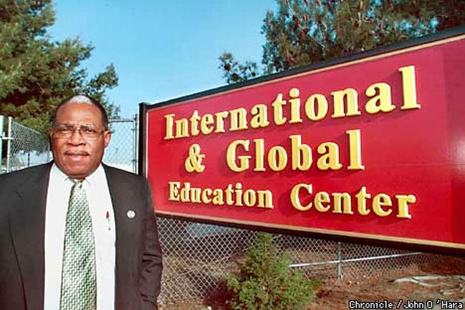 Peralta Community College District, 333 E. 8th St. Oakland CA.  Chancellor Ron Temple, dismisses critcs comments about travel.  Photo/John O'hara Photo: John O'Hara