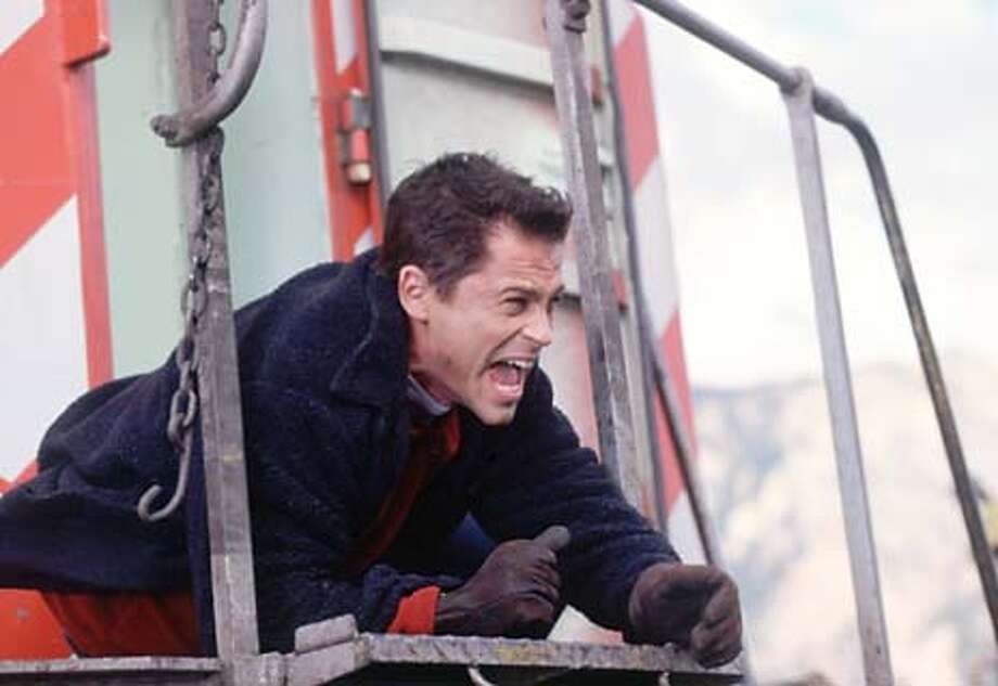 Rob Lowe as John Seger in NBC's Atomic Train.  HANDOUT Photo: HANDOUT