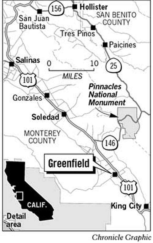 Greenfield. Chronicle Graphic