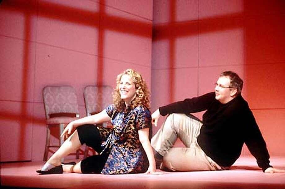 Shear with Tom Riis Farrell, who plays a fanatical Mae West admirer. Handout Photo
