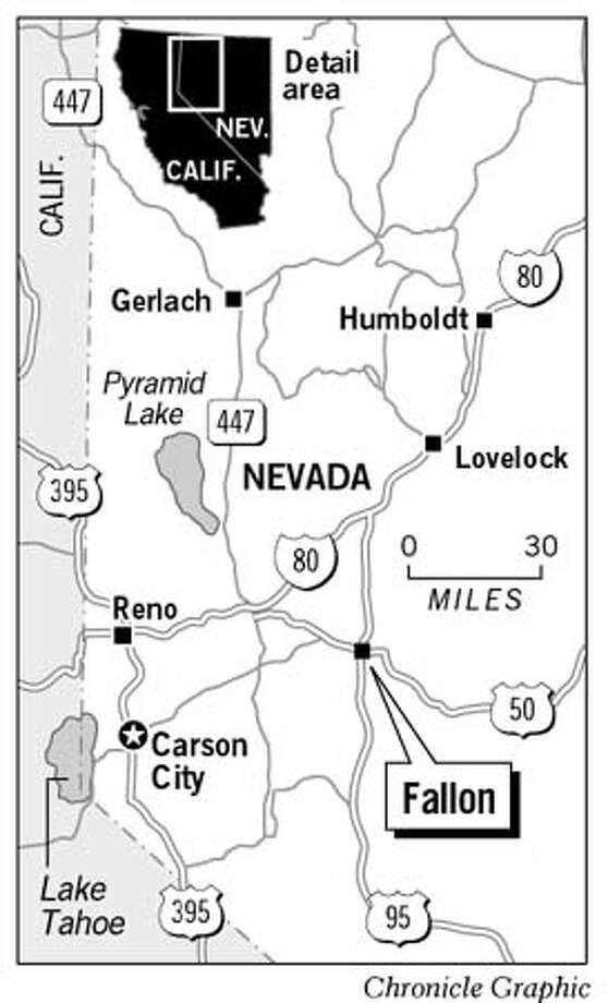 Fallon, Nevada. Chronicle Graphic