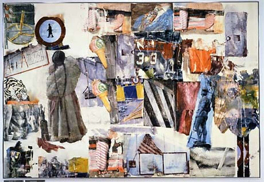 """Port of Entry"" by Robert Rauschenberg, 1998."