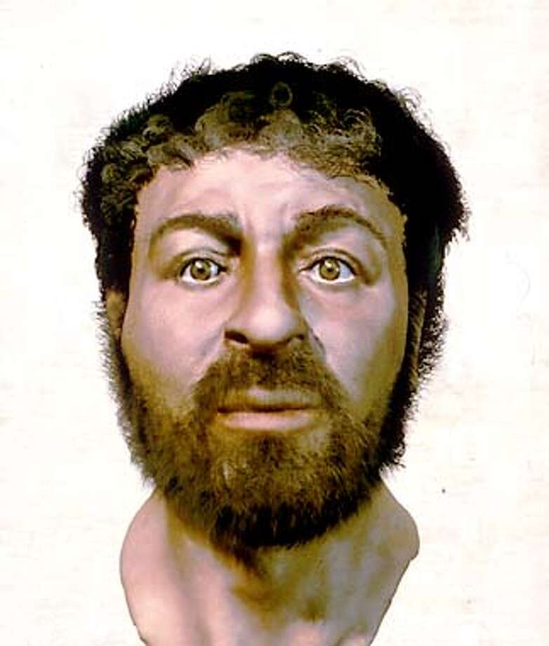 A portrait of what Jesus might actually have looked like. Handout Photo