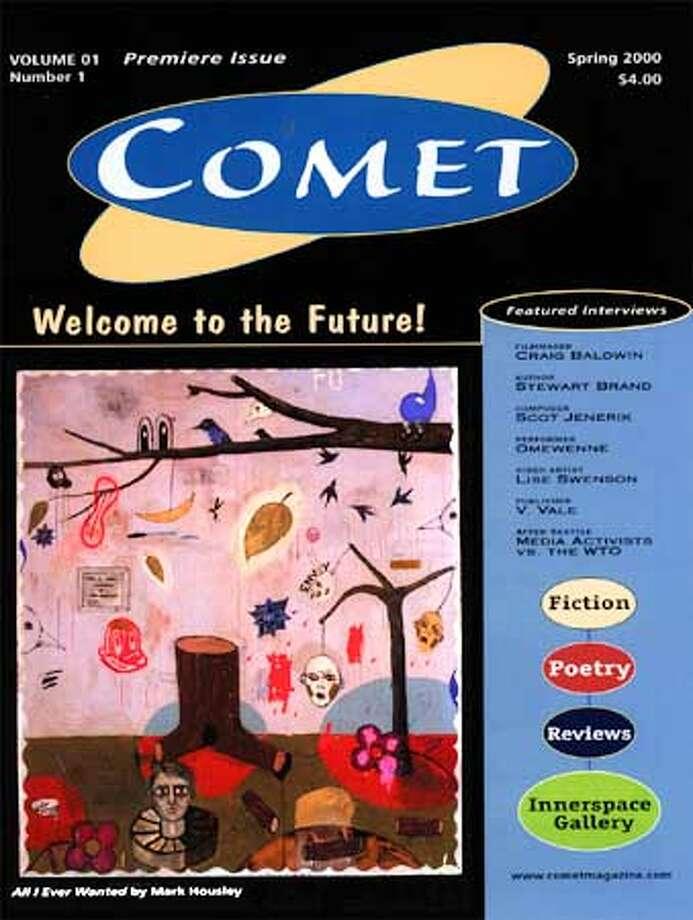 Premiere issue of Comet magazine. Handout Photo