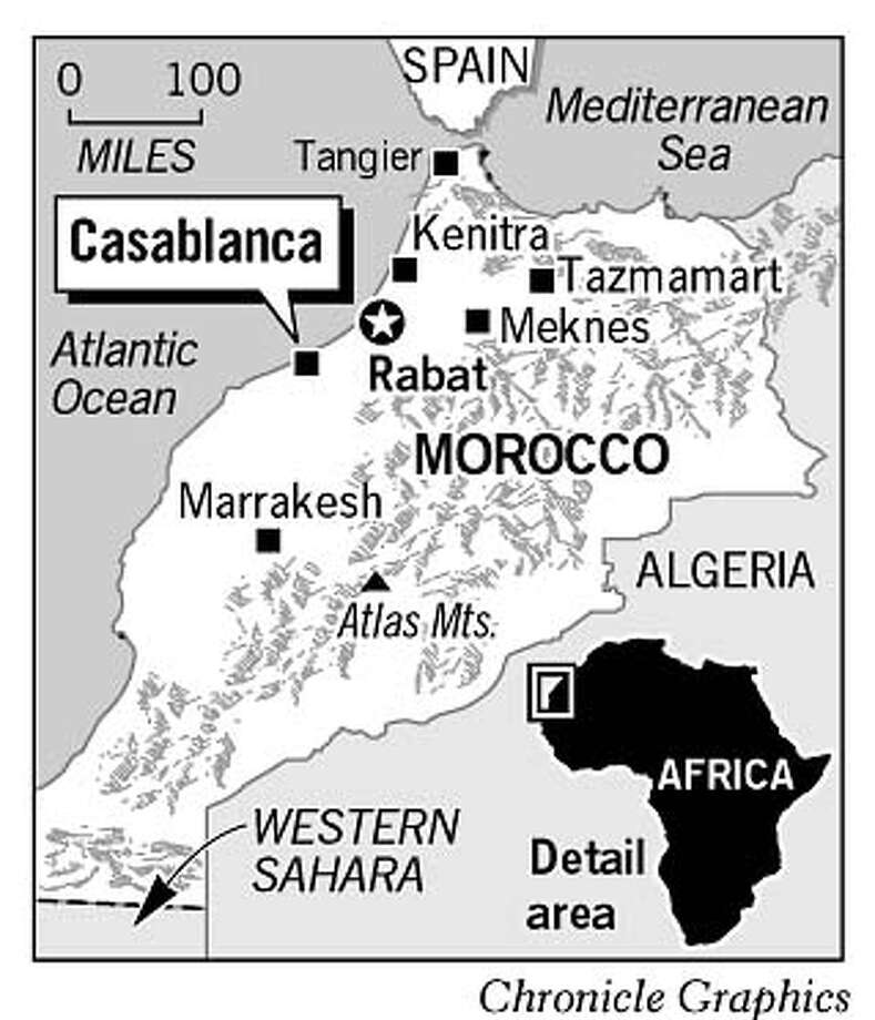 Morocco. Chronicle Graphic