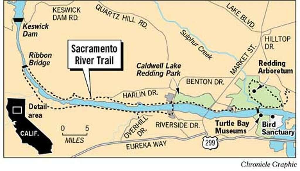 Sacramento River Trail Chronicle Graphic