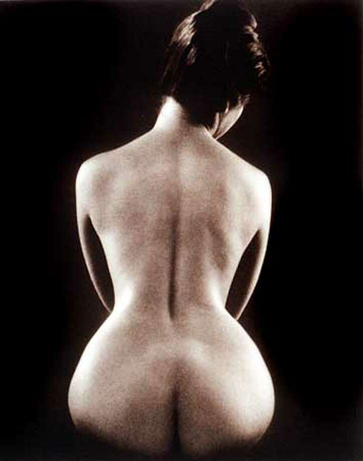 "Ruth Bernhard is best known for her female nudes, such as ""Hourglass'' (1971). Handout Photo"