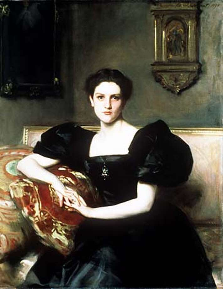 """In his portrait of """"Elizabeth Winthrop Chanler"""" (1893), John Singer Sargent flatters his subject by minimizing her hands and slightly lengthening her neck and arms. Handout Photo"""