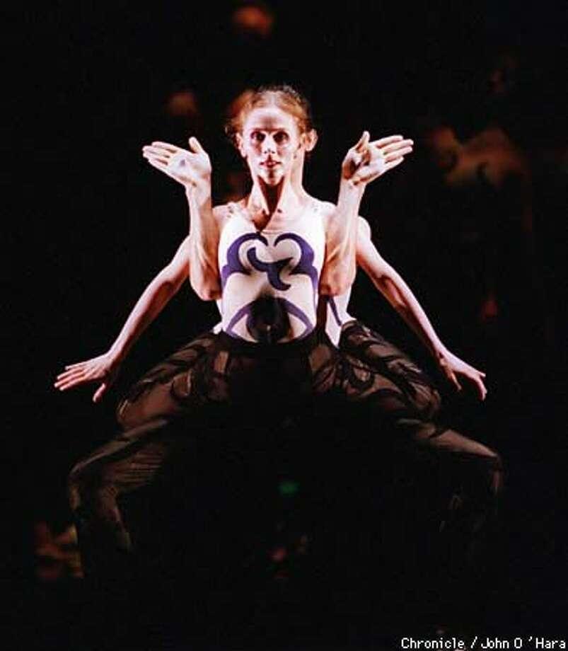 "Julia Adam danced in Stanton Welch's ""Taiko."" Chronicle Photo by John O'Hara"