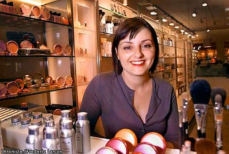 ": Jeanine Lobell, who started Stila cosmetics, is married to Anthony Edwards who is quitting """"ER'' maybe to be a house husband. Jeanine's company was bought out by Estee Lauder but is still very hands on. She just did the huge Sephora runway show and made up Laura Linney for the Oscar broadcast (last year she did cate blanchett). Chronicle photo by Frederic Larson Photo: FREDERIC LARSON"