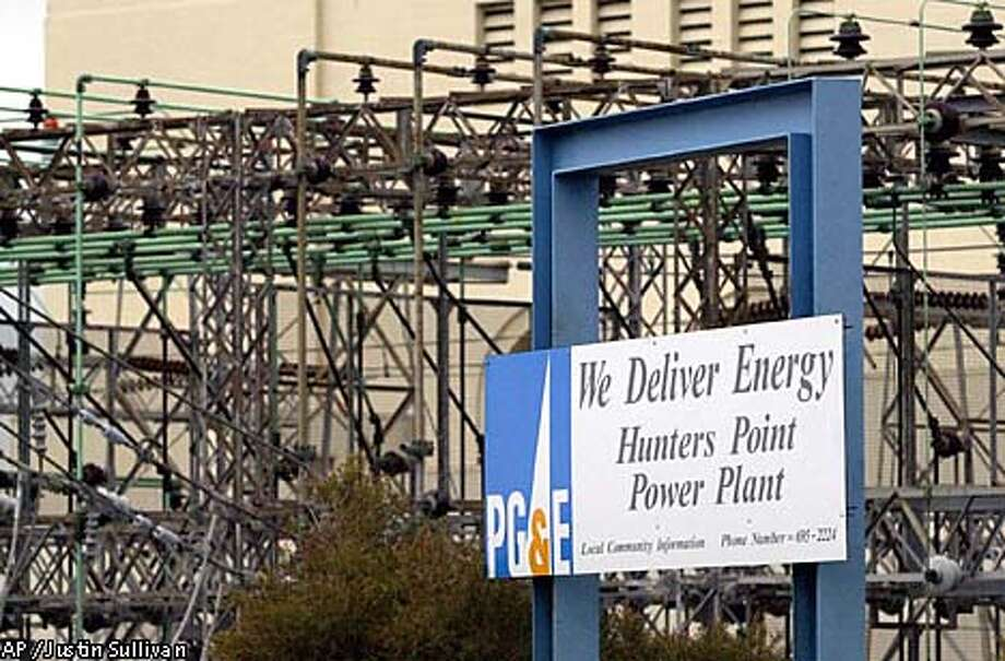 Pacific Gas & Electric, California's largest utility, filed for Chapter 11 federal bankruptcy protection Friday despite months of efforts by state officials to bail out the cash-starved company. Associated Press photo by Justin Sullivan