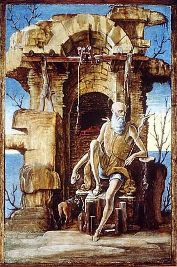Ercole de' Roberti's ``St. Jerome in the Wilderness'' (c. 1474) is one of the artist's 12 works on display at the Getty.