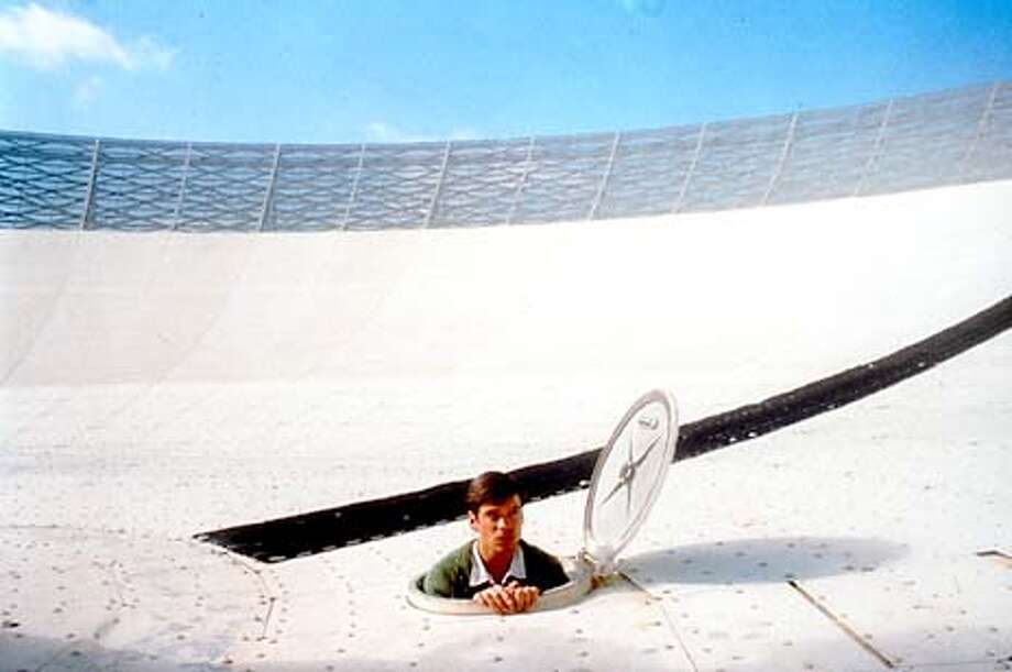 "An astrophysicist (Tom Long) helps operate the huge Australian satellite dish that tracked television signals from the Apollo 11 moon mission in ""The Dish,'' a docudrama directed by Rob Sitch. Handout Photo"