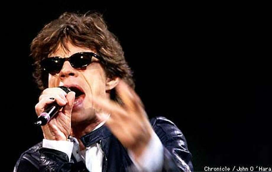 Mick Jagger and the Rolling Stones (shown here Tuesday) closed out  their ``No Security'' tour this week with two makeup dates at the San Jose Arena. Chronicle Photo by John O'Hara
