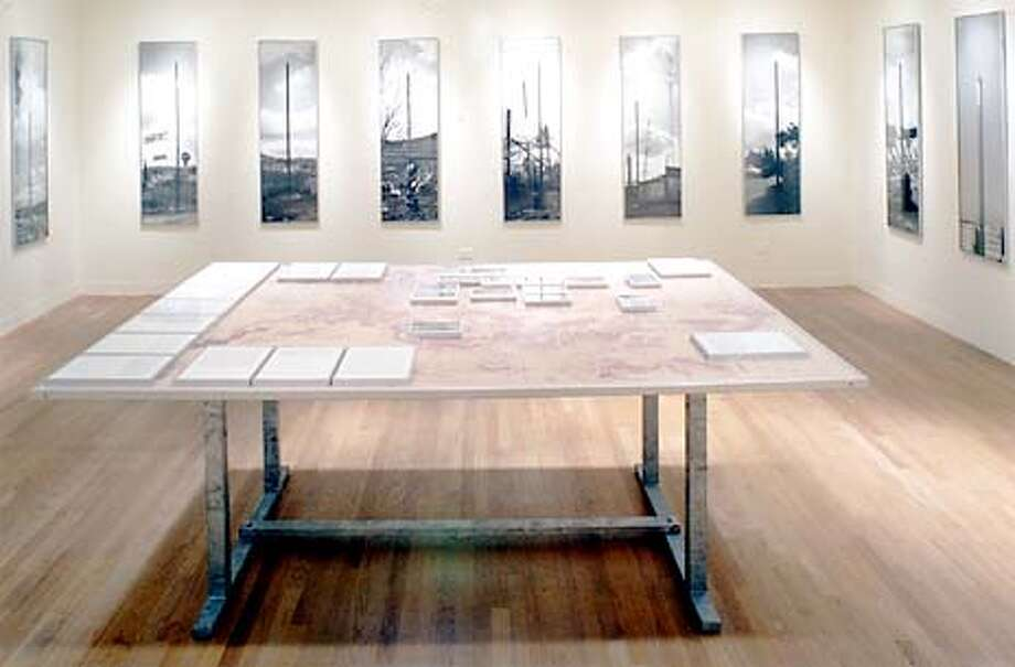 SOPHIE CALLE: PUBLIC PLACES-PRIVATE SPACES at The Jewish Museum, San Francisco.
